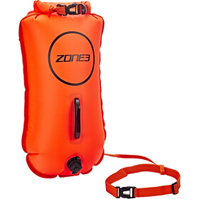 Zone3 Swim Safety Buoy Bolsa seca 28L, orange